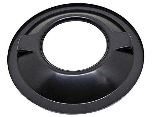 STEEL 16″ DOMINATOR AIR CLEANER BASE – BLACK