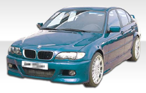 1999-2006 BMW 3 Series 4DR E46 Duraflex M3 Style Body Kit - 4 Piece - Includes M3 Style Front Bumper Cover (102057) R-1 Rear Bumper Cover (102062) R-1 Side Skirts Rocker Panels (102451) ()