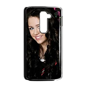 miley cyrus curly hair LG G2 Cell Phone Case Black Customized gadgets z0p0z8-3213863