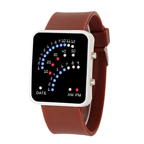 Retro 70s Style Led Watch - 6
