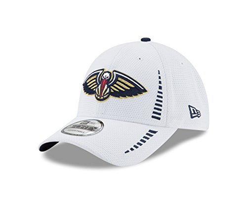 NBA New Orleans Pelicans Adult White NE Speed 9FORTY Adjustable Cap, One Size, White