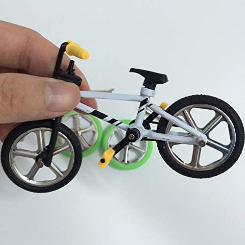 [해외]khkadiwb Toys Repair Tool&Classic ToysCute Metal Mini BMX Finger Mountain Bike Toys Kids Simulation Bicycle Model - Random Color Funny Kid`s Gift Durable / khkadiwb Toys Repair Tool&Classic ToysCute Metal Mini BMX Finger Mountain B...