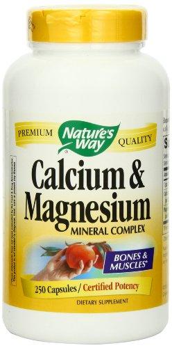 Way calcium et le magnésium de la nature, 250 Capsules