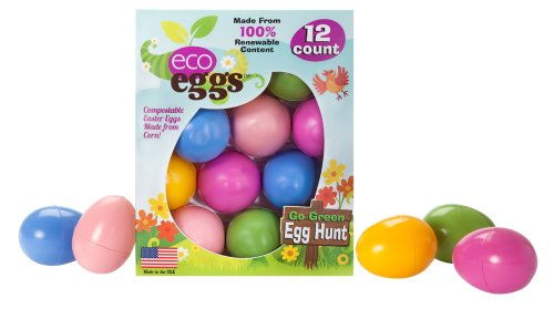 Eco Friendly Easter Eggs – 12 Count