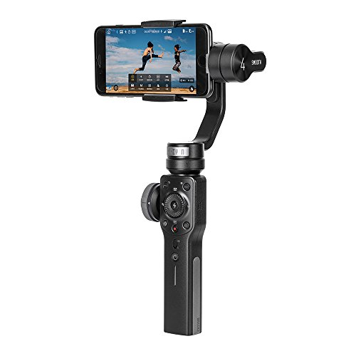 Zhiyun Smooth-Q 3-axis 3-ejes gimbal de estabilizador para celulares como IPhone 7 Plus 6 Plus Samsung Galaxy S7 S6 S5 control inalámbrico fotografía ...