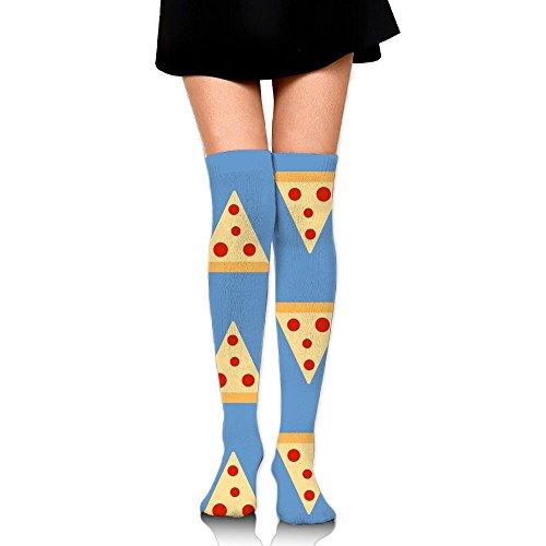 Le Donne Della Pizza Lungamente Sopra I Calzini Cosplay Delle Calze Della Coscia Dellalta Calza Che Calza Il Bianco