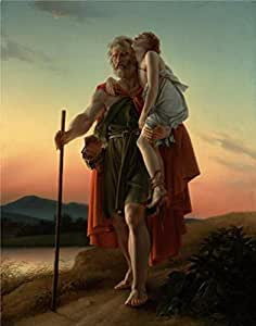 Perfect effect Canvas ,the Best Price Art Decorative Canvas Prints of oil painting 'Belisarius,1797 By Baron Franois Gerard', 20x25 inch / 51x64 cm is best for dining Room decor and Home gallery art and Gifts