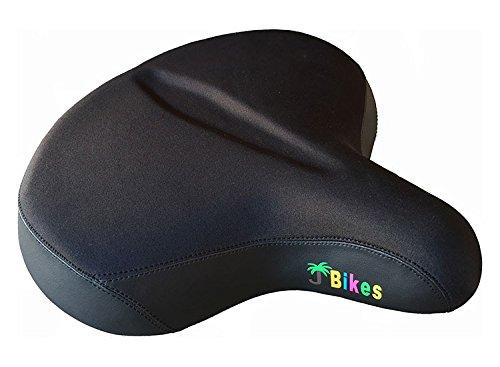 "JBikes Cruiser Delux Saddle Ultimate Comfort 13"" Bicycle ..."