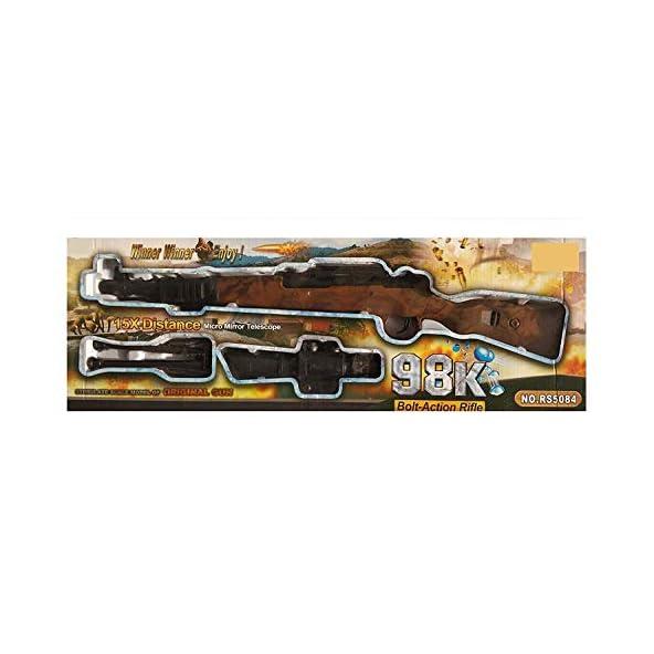 Shreeji Retails PubG Theme Gun Toys Set with Assault Rifle Kar98k Model for Kids