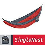 The ENO SingleNest Hammock is simple to use, lightweight, durable and best of all incredibly comfortable.   This hammock is great for anywhere.  Whether you are backpacking, car camping, traveling or just putting it up in the back yard for the whole ...