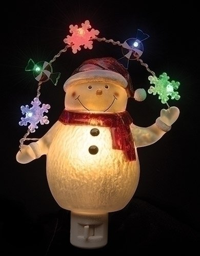 Snowman Led Night Light