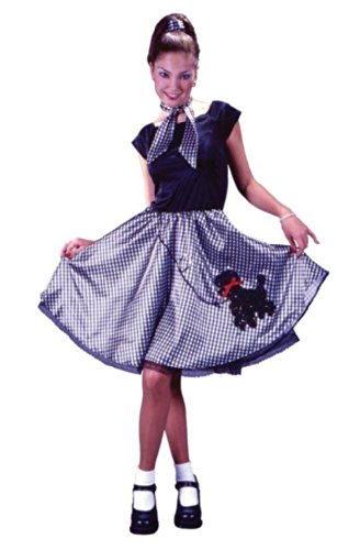 Bobby Soxer Costume for Adult Women Size Small/Medium (2-8)]()
