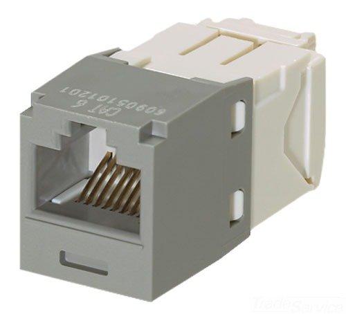 Panduit Cj688tgig Category 6 8 Wire Tg Style Jack Module  International Grey