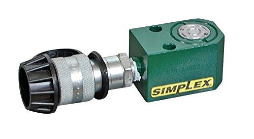 Simplex R50 Steel Spring Return Cylinder, 10000 PSI, 1.13'' Bore, 0.62'' Stroke by Simplex