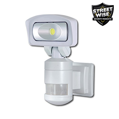 Nightwatcher Robotic LED Security Light: Movement Tracking Flood Light