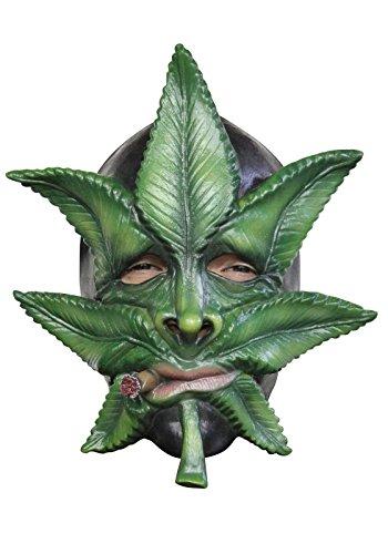 Weed the Marijuana Leaf Mask, Green