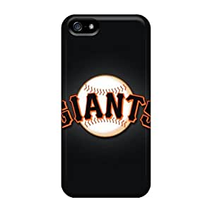 SherriFakhry Iphone 5/5s Protective Hard Phone Cover Provide Private Custom Attractive San Francisco Giants Pattern [EMH3135ZWsa]