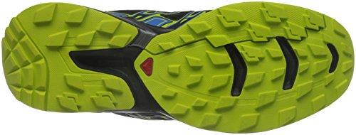 Homme Gecko et 2 Course Black Bright Flyte Green Pied GTX Salomon Chaussures Blue à de Bleu Trail Noir Wings Running 1vUxtwd