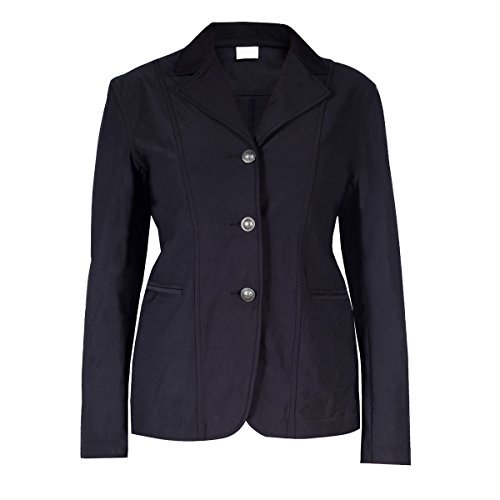 Horze Ladies Womens Black English Hunt Seat Wiona Competition Show Jacket Coat (US 14/EU 44)