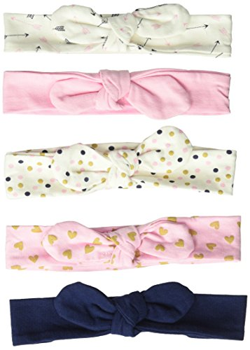 Hudson Baby Baby Girls' Headband, 5 Pack