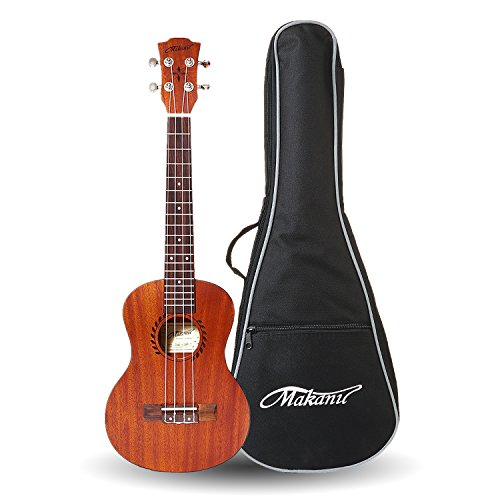Makanu Tenor Ukulele 26 Inch Professional Ukulele Beginners with Gig bag - Matte Finish