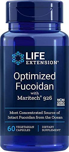 Life Extension Optimized Fucoidan with Maritech 926, 60 Vegetarian Capsules