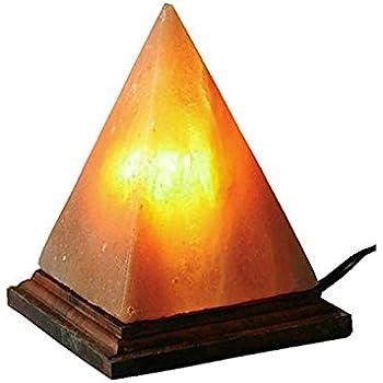 Good Pyramid Himalayan Salt Rock Lamp With Dimmer Switch Pink Sea Salt Crystas,  By JIC Gem