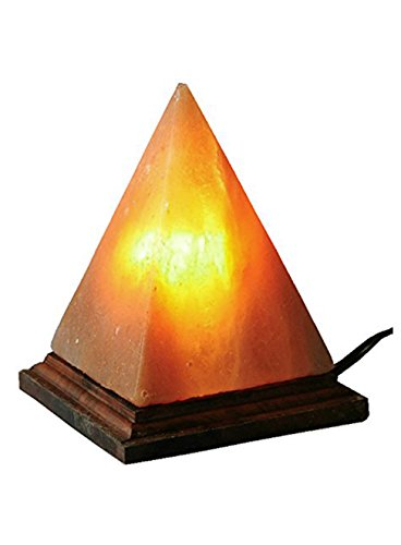 - Pyramid Himalayan Salt Rock Lamp with Dimmer Switch Pink Sea Salt Crystas, by JIC Gem (PS01) 7