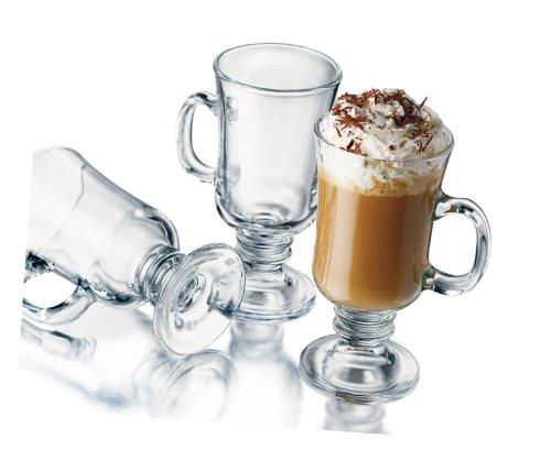 Libbey 8-1/2-Ounce Irish Coffee Mug, 4-Piece Set ()
