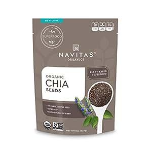 Navitas Organics Chia Seeds, 8 oz. Bag
