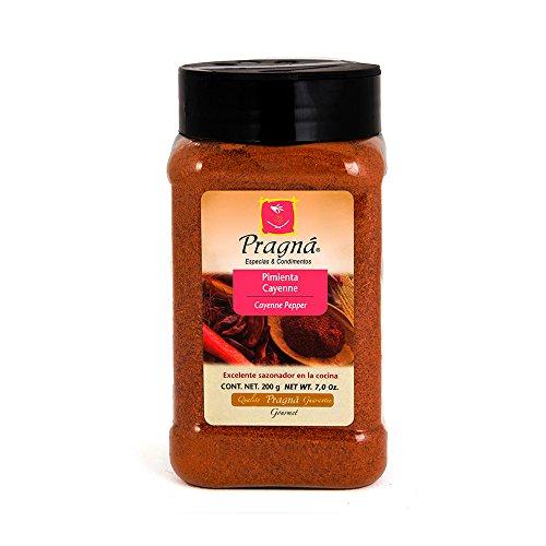 Pimienta Cayenne. Ideal para carnes, pescados, mariscos, sopas, guisos, salsas. Le da un toque ligeramente picoso a tus...