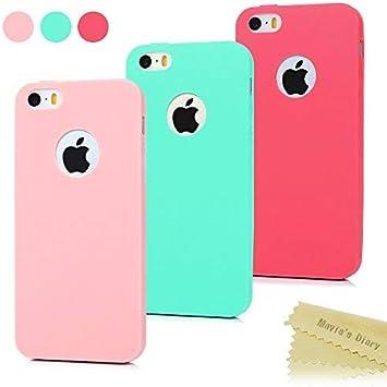 Ya explotar grandioso  3x Funda iPhone SE, Carcasa iPhone 5S Silicona Gel: Amazon.es: Electrónica