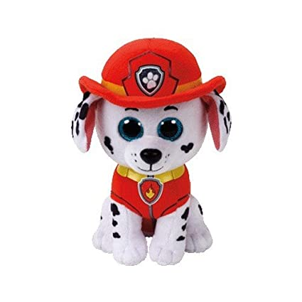 TY Paw Patrol MARSHALL - Dalmatian Dog Medium Plush 13""