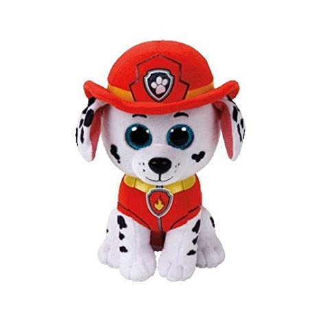 Amazon.com: TY Paw Patrol MARSHALL - Dalmatian Dog Medium Plush 13