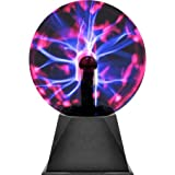 Plasma Ball - Nebula, Thunder Lightning, Plug-In - For Parties, Decorations, Prop, Kids, Bedroom, Home, And Gifts - Kidsco