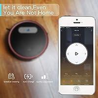 LEFANT Robot Aspirador con WiFi, Aspira y Barre 2 en 1, App ...