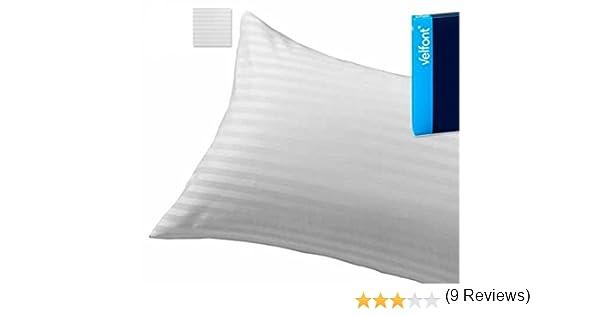 Velfont Cuadrante Relleno de Cojin Blanco 50 x 50 cm