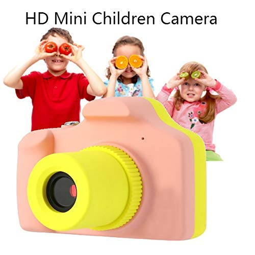 ZEERKEER HD Mini Digital Video Cameras,Kids Childrens Point and Shoot Digital Video Camera Recorders Cute Birthday for Kids (Pink) by ZEERKEER (Image #3)