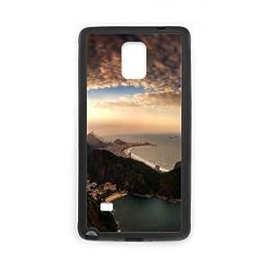 Samsung Galaxy Note 4 Case, amazing cityscape Case for Samsung Galaxy Note 4 Black