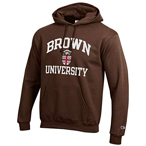 Elite Fan Shop Brown University Bears Hooded Sweatshirt - XXL