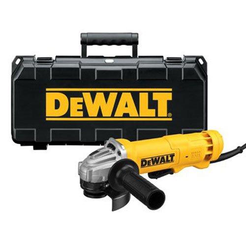 DEWALT DWE402K 4-1/2-Inch 11-Amp Angle Grinder Kit