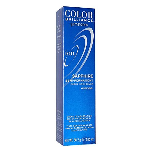 - Ion Sapphire Semi Permanent Hair Color Sapphire