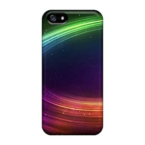 New Style ChrisArnold Space Ring Premium Covers Cases For Iphone 5/5s