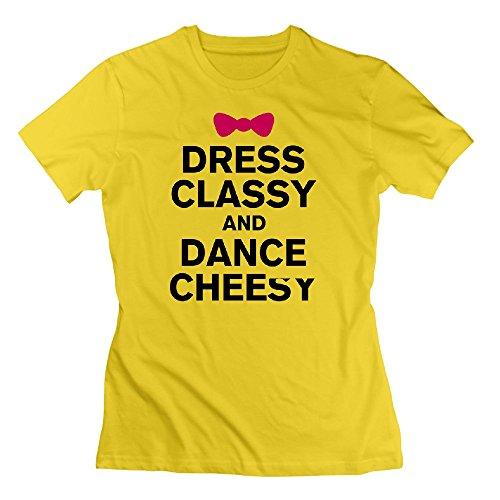 Mala Amarillo Vestir Color Bailar De De Y Clase Calidad Divertidas Con Camisetas ggPAfq4w