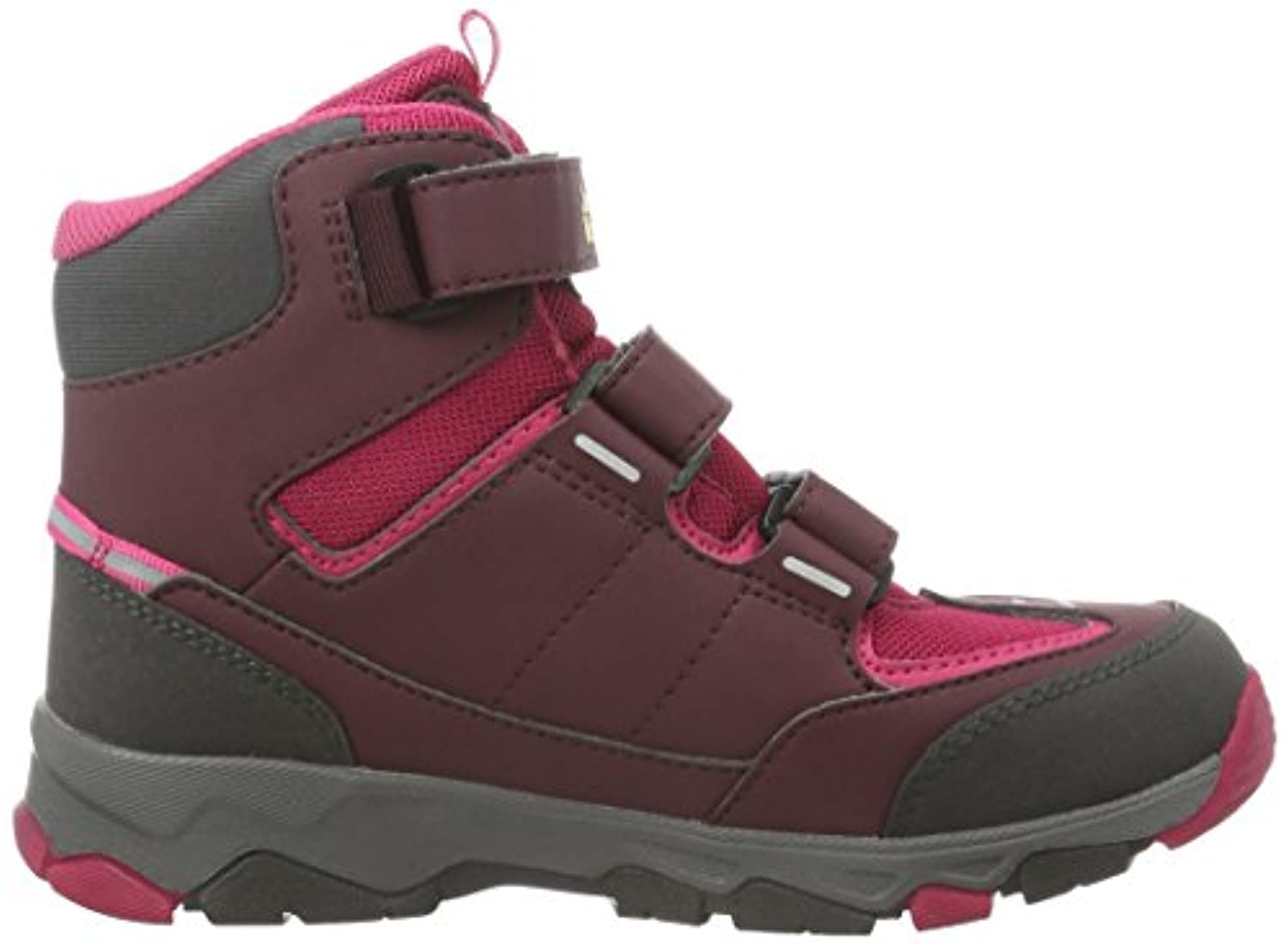 Jack Wolfskin Unisex Kids' Mtn Attack 2 Texapore Mid Vc K Low Rise Hiking Shoes, Red (Azalea Red 2081), 6.5 UK