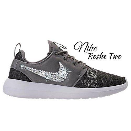 Swarovski Nike, NIKE Bling, NIKE Roshe Two, Custom Nike, Bling Nike, Bedazzled Kicks by Sparkle Boutique