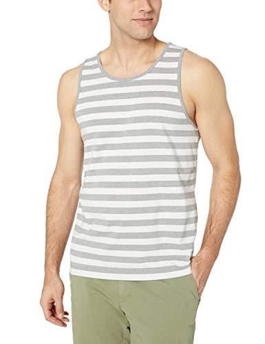 Amazon Essentials Mens Regular-fit Stripe Tank Top