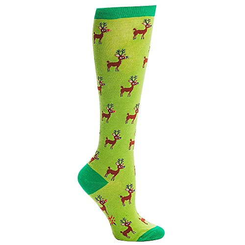 Reindeer Socks For Christmas Kritters In The Mailbox