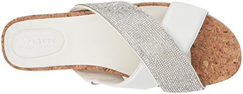 X White Slide REACTION Kenneth Slip Sandal Flat Band Shore Straps Cole Ly Women's 10qUw1