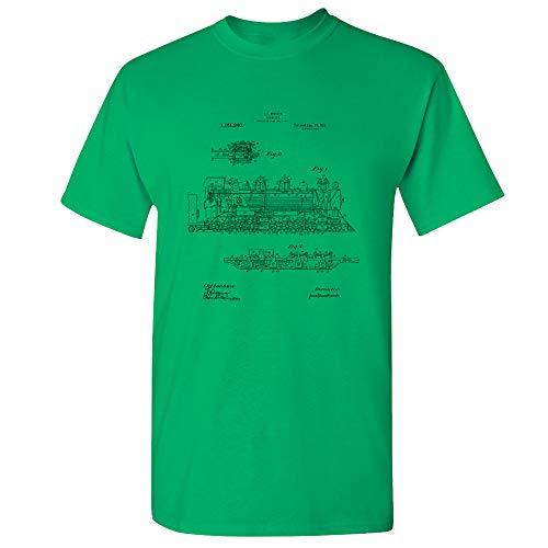 Steam Locomotive T-Shirt, Train Conductor, Railway Worker,